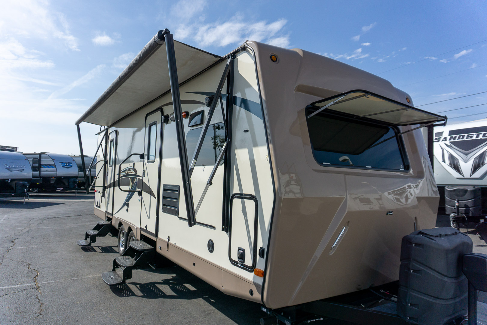 2015 FOREST RIVER CLASSIC SUPER LITE 26FKWS