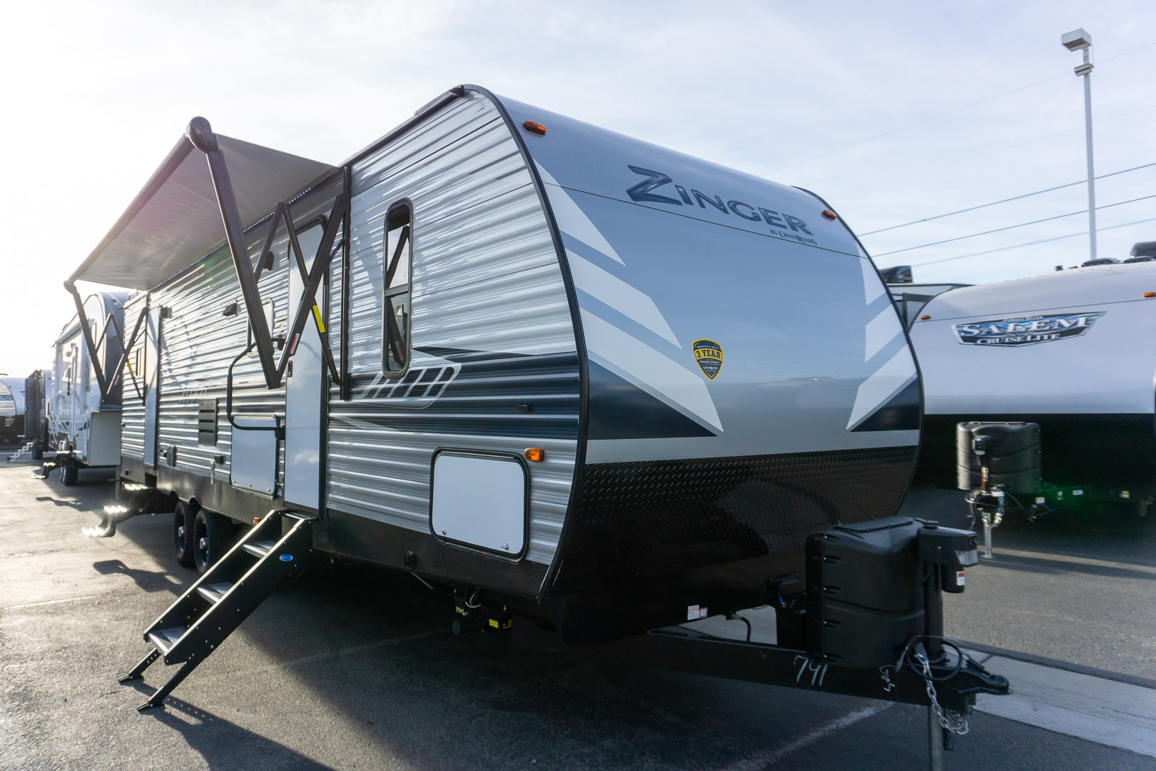 2020 CROSSROADS RV ZINGER ZR320FB